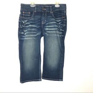 BKE Denim Culture Crop/Capri Women's Size 28